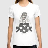 valentine T-shirts featuring Valentine by Sara Elan Donati