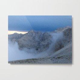 Cloud Curl Metal Print