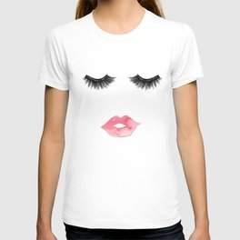 Lips & Lashes T-shirt
