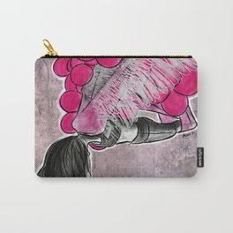 aerial yoga balloon wings Carry-All Pouch