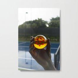 TENNIS(DRGN)BALL. Metal Print