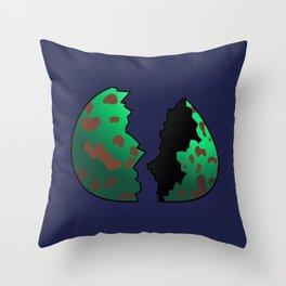 The Num Nums - The Egg Throw Pillow