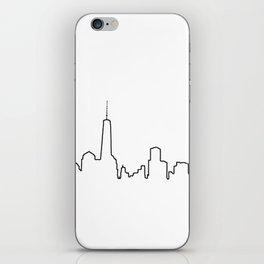 New York Life Line iPhone Skin
