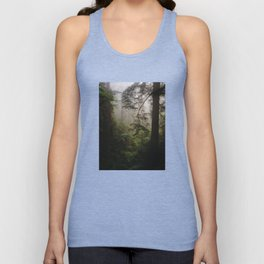 Foggy Forest Unisex Tanktop