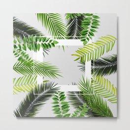 Leaf Orelia Metal Print