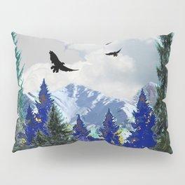 PURPLE MOUNTAINS WILDERNESS LANDSCAPE Pillow Sham