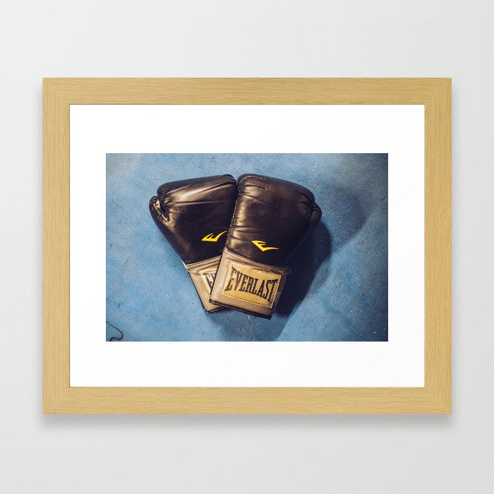 Boxing Love Framed Art Print