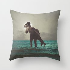Now I am Alive Throw Pillow