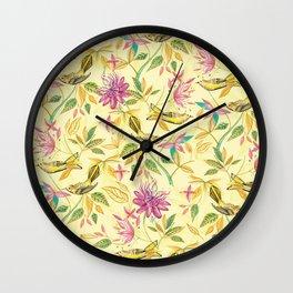 BIRDS&PASSIONFRUIT Wall Clock