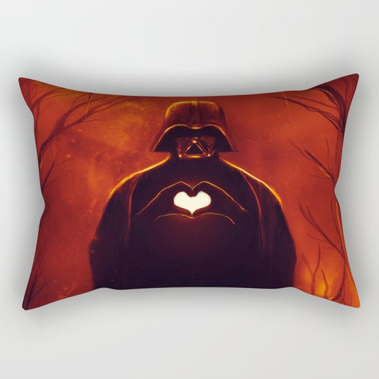 Heart Vader Rectangular Pillow
