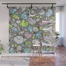 PLAYTIME_D Wall Mural