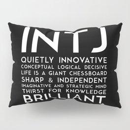 INTJ (black version) Pillow Sham