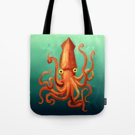 Giant Squid Tote Bag