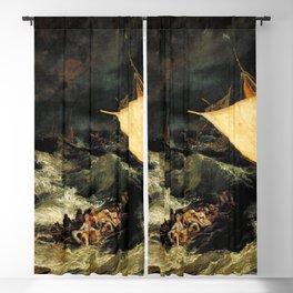 The Shipwreck (1805) J.M.W. Turner Blackout Curtain