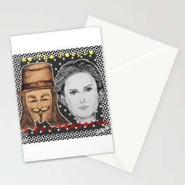 (Vendetta - We The People) - yks by ofs珊 Stationery Cards