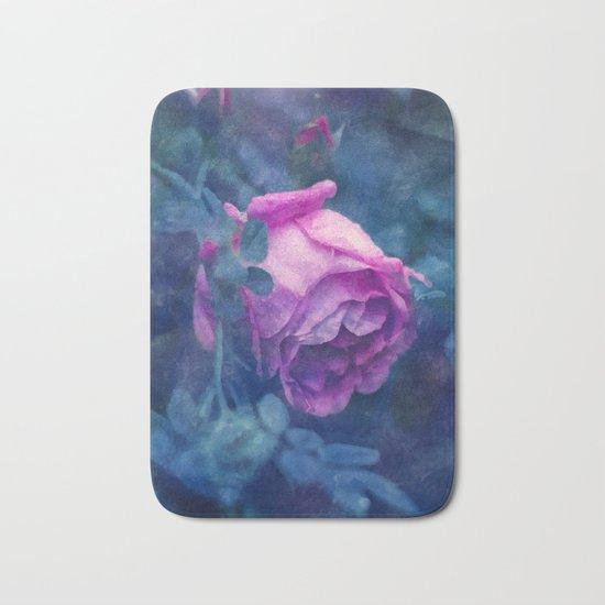 Blooming rose Bath Mat
