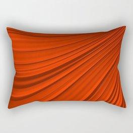 Renaissance Red Rectangular Pillow