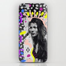 Kate Moss Tribal Far East iPhone & iPod Skin