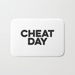 Cheat Day Bath Mat