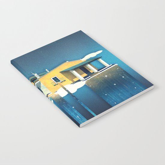 Castle in Heaven Notebook