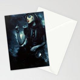 La dame des ombres Stationery Cards