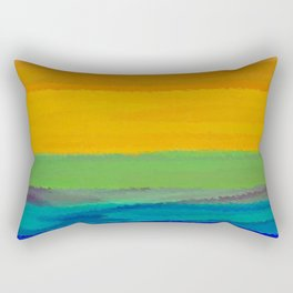 Fallout Sunrise Rectangular Pillow