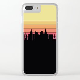 Las Vegas Skyline Clear iPhone Case