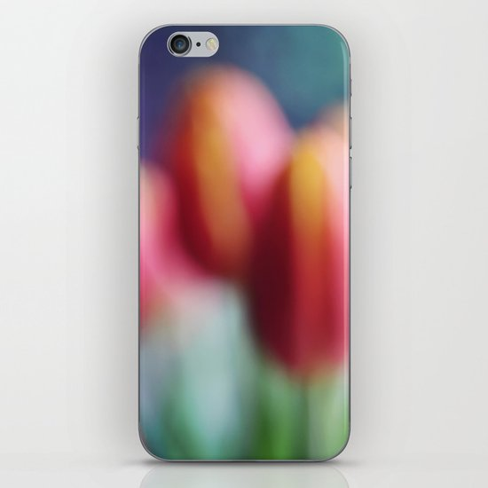 Abstract Tulips iPhone & iPod Skin