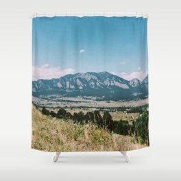 Boulder Trail Shower Curtain