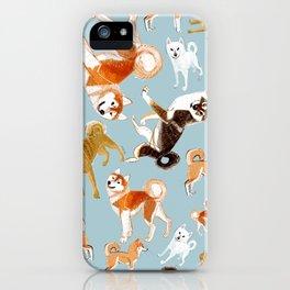 Japanese Dog Breeds iPhone Case