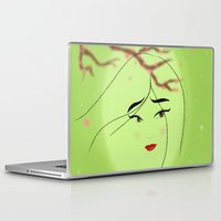 mulan Laptop & iPad Skins featuring Mulan by Tiffany Taimoorazy