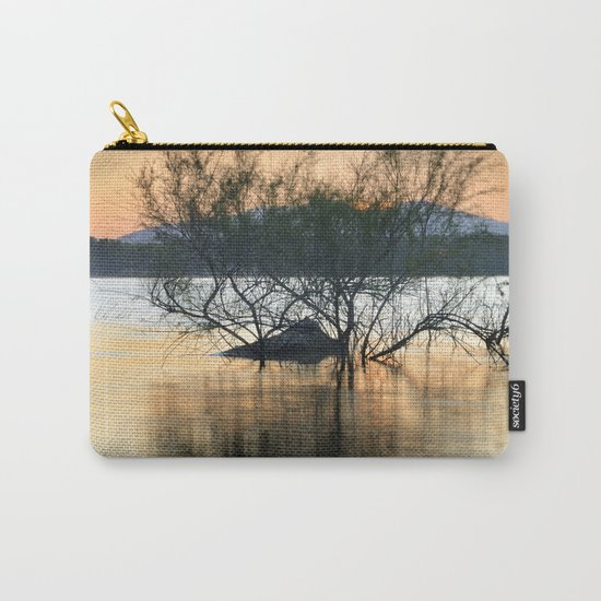 """""""Peace at the lake"""". Dream sunset. Carry-All Pouch"""