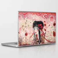 geisha Laptop & iPad Skins featuring Geisha by Minasmoke