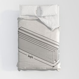 Life is short but deep Comforters