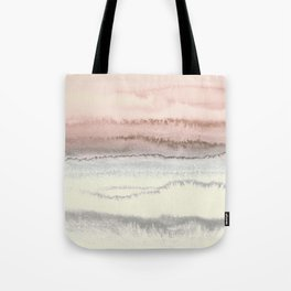WITHIN THE TIDES - SNOW ON THE BEACH Tote Bag