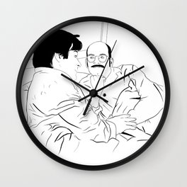 There's a new daddy in town Wall Clock