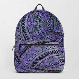 Zentangle Mandala Backpack