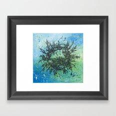 the planet shades Framed Art Print