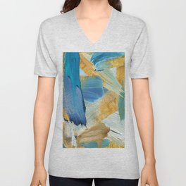 Easterly Abstract Unisex V-Neck