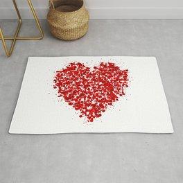 big heart 01 Rug