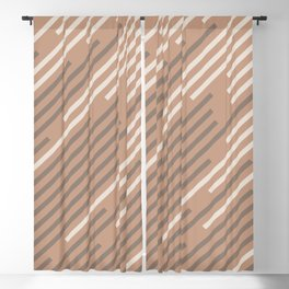 Sand Storm Beige Creamy Off White Mid-tone Brown 2021 Color of The Year Canyon Dusk Accent Shades Blackout Curtain