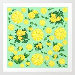 LEMON #1 Art Print