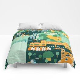 Floripa Brazil Comforters