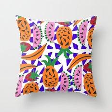 Fruit Party IV Throw Pillow