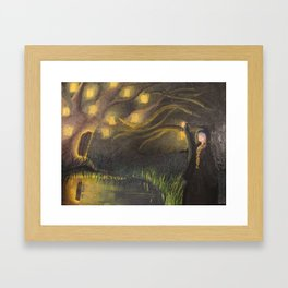 Illuminated Dreams Framed Art Print