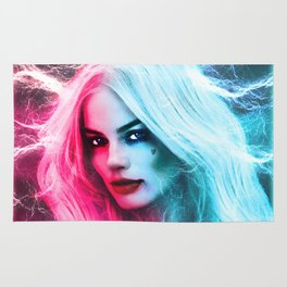 The creation of Harley Quinn - Margot Robbie Rug