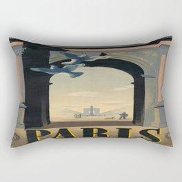 Vintage poster - Paris Rectangular Pillow