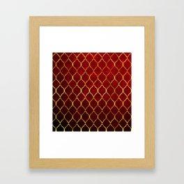 Moroccan Tile islamic pattern #society6 #decor #buyart #artprint Framed Art Print