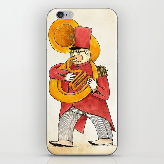 García, tuba iPhone Skin