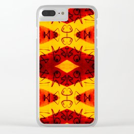 Graffitti - Infinity Series 003 Clear iPhone Case